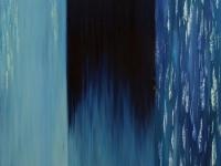 Cascate Blue_60x80 oil&spatula