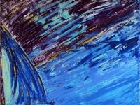 Sky Viola_100x80_olio&spatola